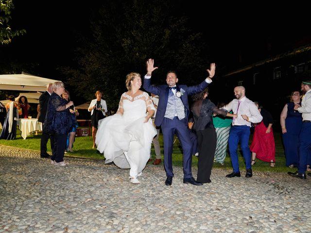 Il matrimonio di Andrea e Giulia a Mortara, Pavia 83