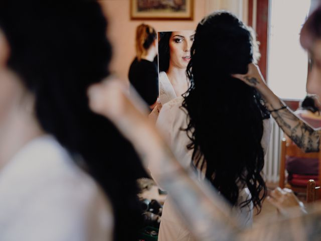 Il matrimonio di Mattia e Ilaria a Montaione, Firenze 4