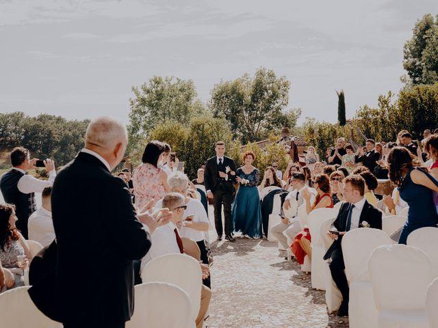 Il matrimonio di Mattia e Ilaria a Montaione, Firenze 18