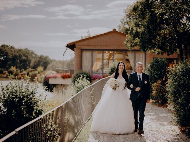 Il matrimonio di Mattia e Ilaria a Montaione, Firenze 19