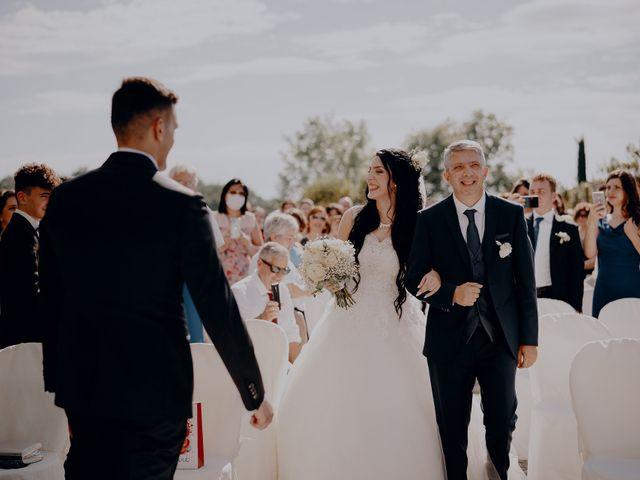Il matrimonio di Mattia e Ilaria a Montaione, Firenze 20