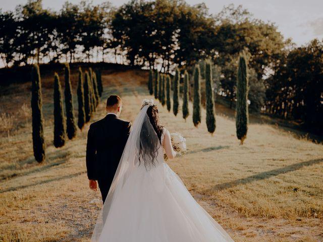 Il matrimonio di Mattia e Ilaria a Montaione, Firenze 27