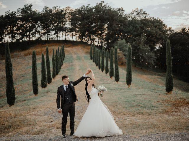 Il matrimonio di Mattia e Ilaria a Montaione, Firenze 30