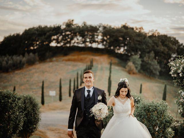 Il matrimonio di Mattia e Ilaria a Montaione, Firenze 31