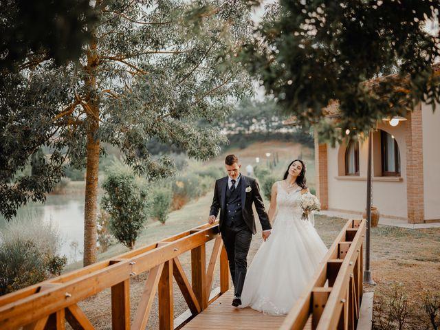 Il matrimonio di Mattia e Ilaria a Montaione, Firenze 33
