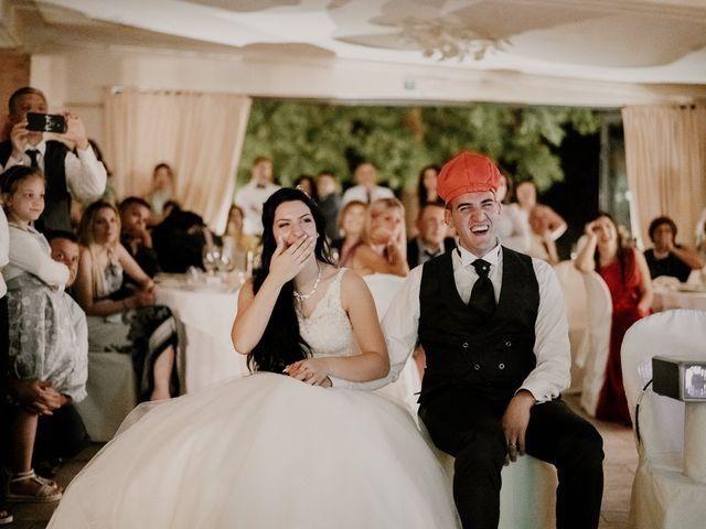 Il matrimonio di Mattia e Ilaria a Montaione, Firenze 34