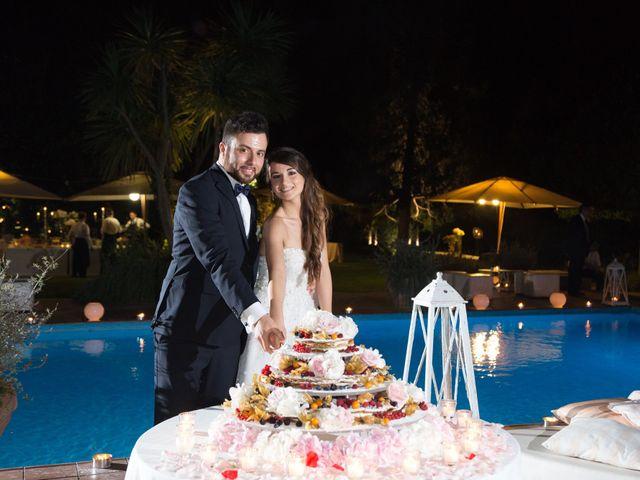 le nozze di Giorgia e Mario