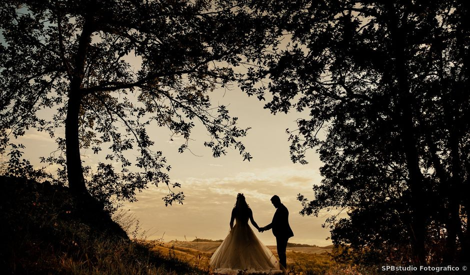 Il matrimonio di Mattia e Ilaria a Montaione, Firenze