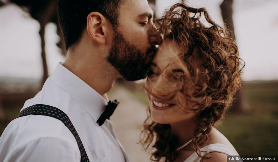 Il matrimonio di Marco e Giulia a Roma, Roma