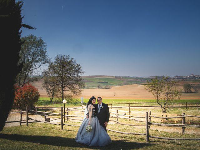 Il matrimonio di Adriano e Federica a Altavilla Monferrato, Alessandria 25