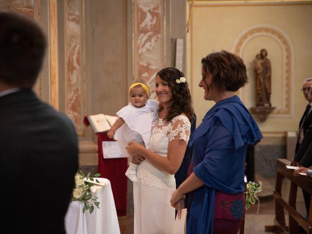 Il matrimonio di Marcello e Marcella a Sommo, Pavia 40