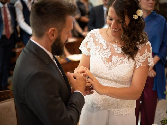 Il matrimonio di Marcello e Marcella a Sommo, Pavia 42