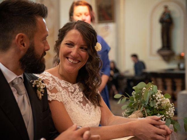 Il matrimonio di Marcello e Marcella a Sommo, Pavia 45