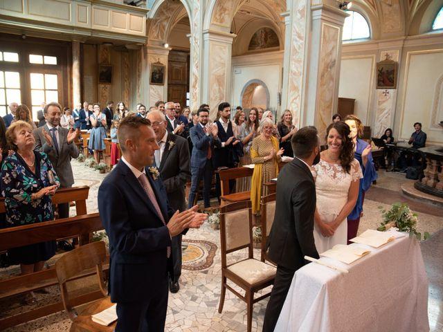 Il matrimonio di Marcello e Marcella a Sommo, Pavia 46