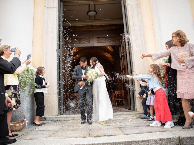 Il matrimonio di Marcello e Marcella a Sommo, Pavia 49