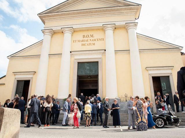 Il matrimonio di Marcello e Marcella a Sommo, Pavia 54