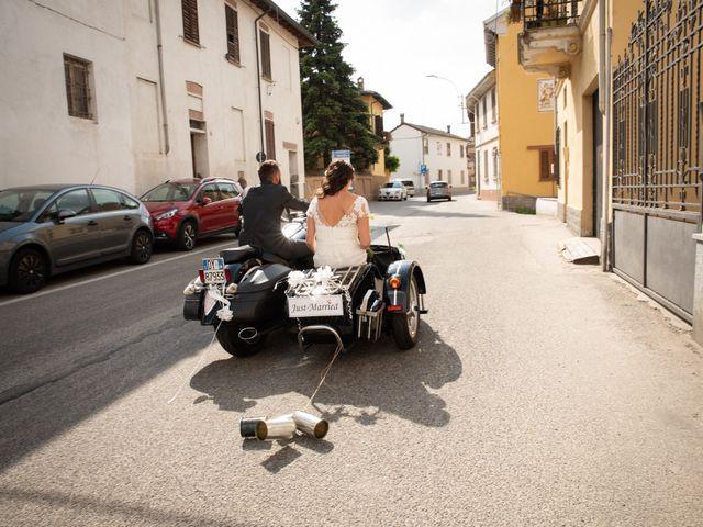Il matrimonio di Marcello e Marcella a Sommo, Pavia 55