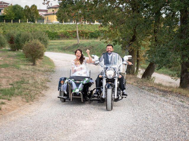 Il matrimonio di Marcello e Marcella a Sommo, Pavia 56
