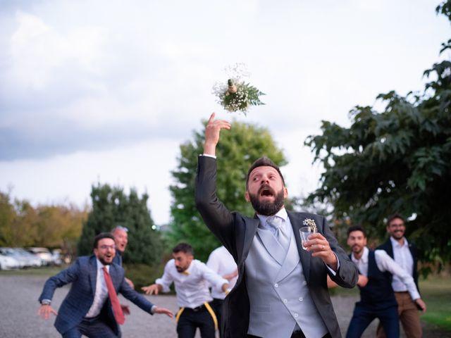 Il matrimonio di Marcello e Marcella a Sommo, Pavia 89