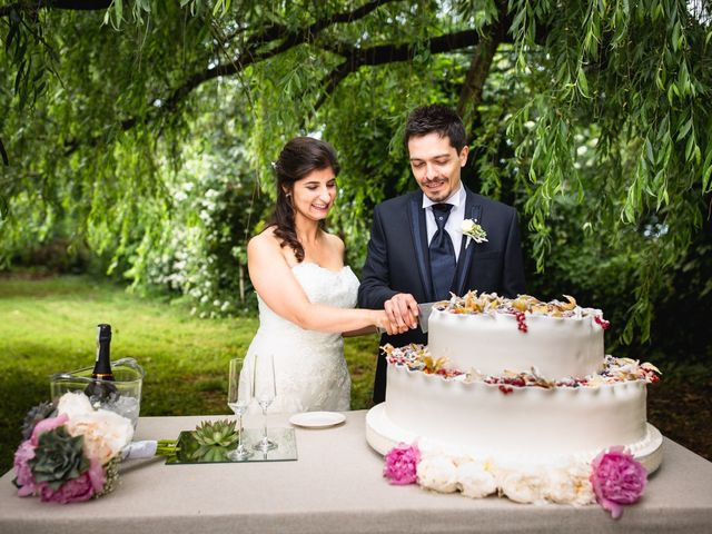Il matrimonio di Giuseppe e Erika a Mortara, Pavia 89