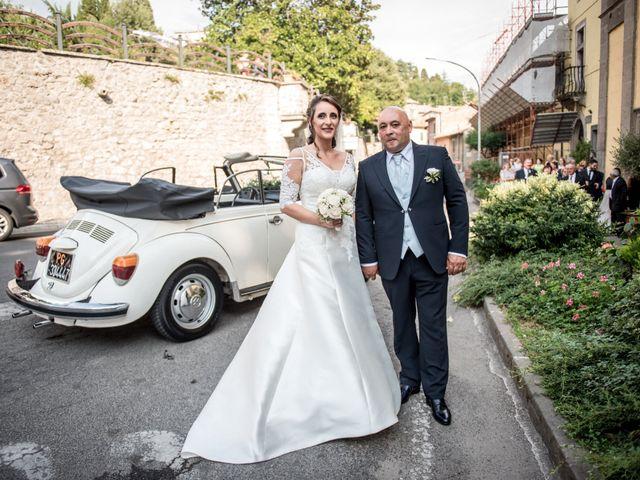 Il matrimonio di Gianluca e Valentina a Canepina, Viterbo 57