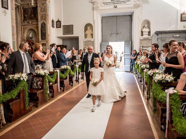 Il matrimonio di Gianluca e Valentina a Canepina, Viterbo 62