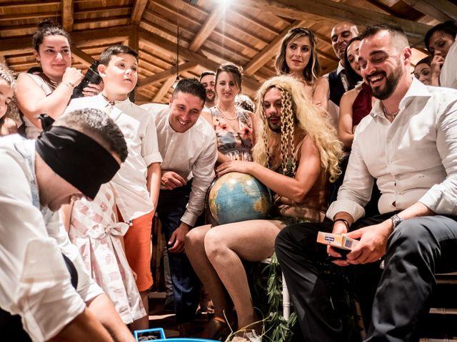 Il matrimonio di Gianluca e Valentina a Canepina, Viterbo 122
