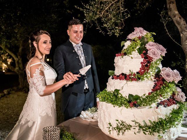 Il matrimonio di Gianluca e Valentina a Canepina, Viterbo 142