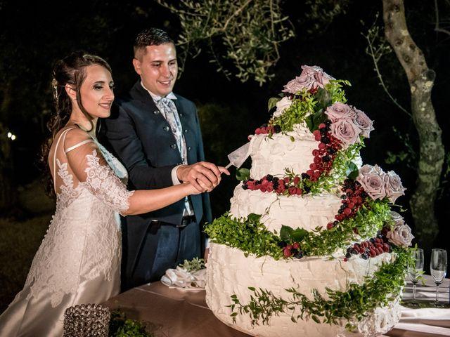 Il matrimonio di Gianluca e Valentina a Canepina, Viterbo 143