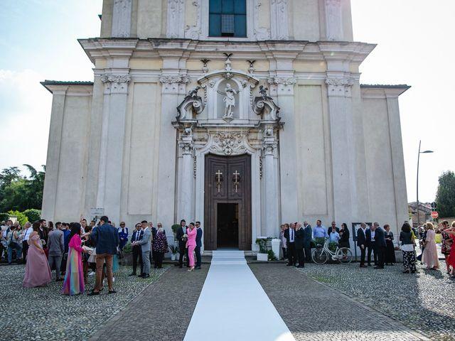 Il matrimonio di Stefano e Francesca a Castegnato, Brescia 29