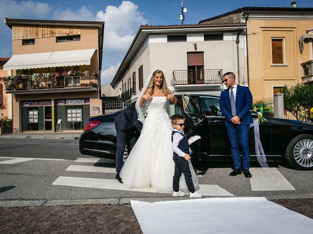 Il matrimonio di Stefano e Francesca a Castegnato, Brescia 30