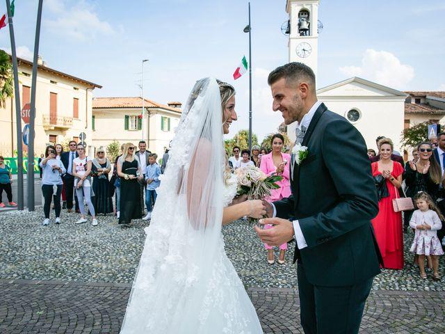 Il matrimonio di Stefano e Francesca a Castegnato, Brescia 1