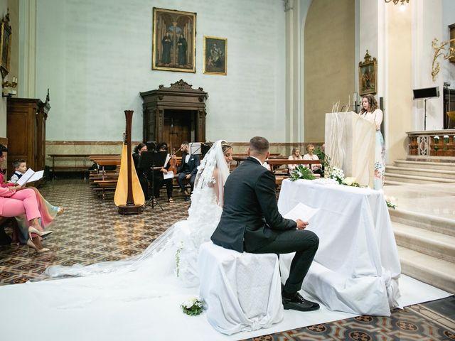 Il matrimonio di Stefano e Francesca a Castegnato, Brescia 37