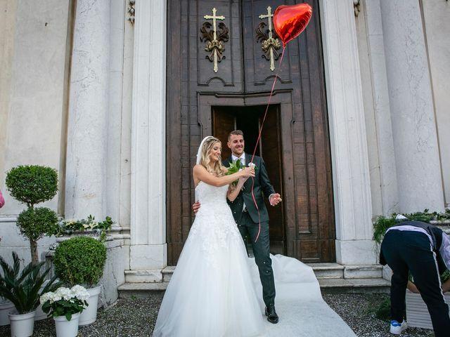 Il matrimonio di Stefano e Francesca a Castegnato, Brescia 42