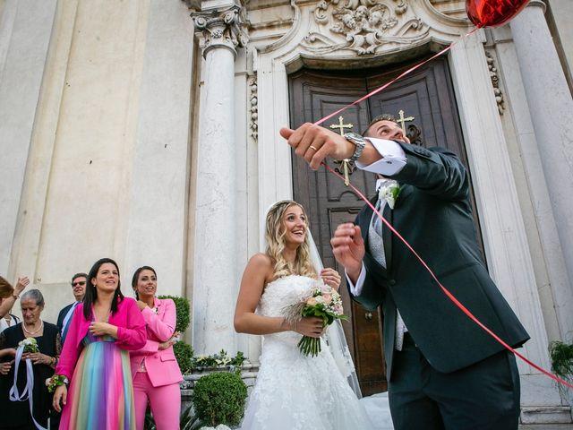 Il matrimonio di Stefano e Francesca a Castegnato, Brescia 43