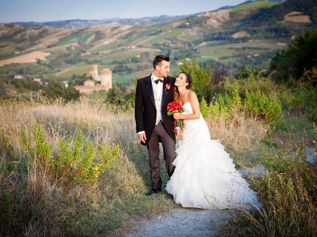Il matrimonio di Monica e Samuele a Brisighella, Ravenna 18