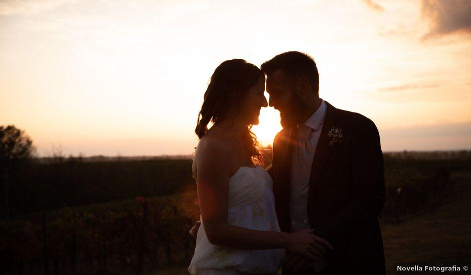 Il matrimonio di Marcello e Marcella a Sommo, Pavia
