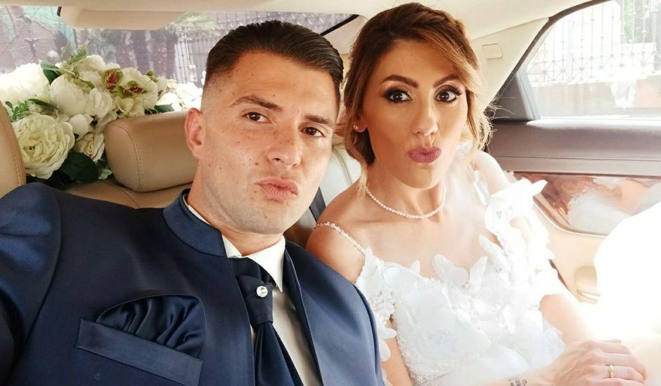 Il matrimonio di Gianluca  e Carmen a Pompei, Napoli