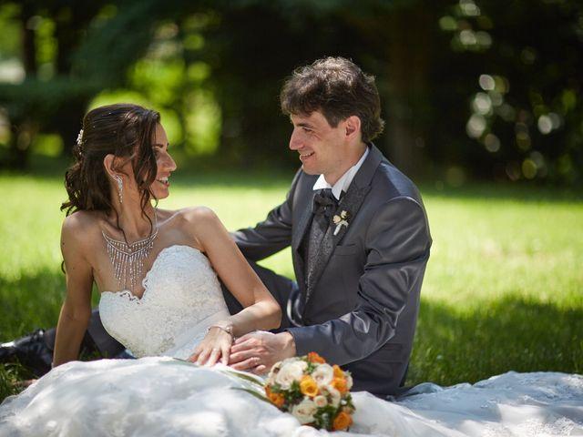 Le nozze di Sabrina e Gabriele