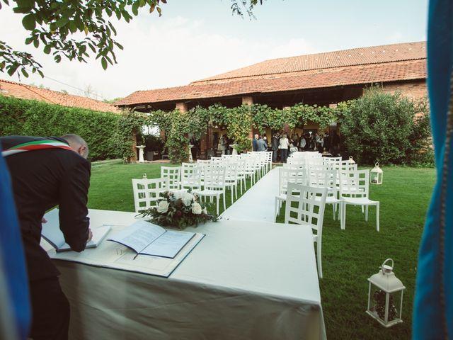 Il matrimonio di Fabrizio e Giulia a Sillavengo, Novara 40