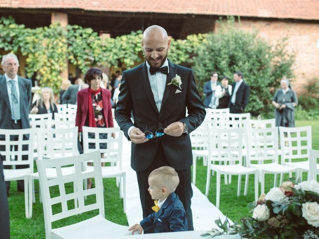 Il matrimonio di Fabrizio e Giulia a Sillavengo, Novara 42