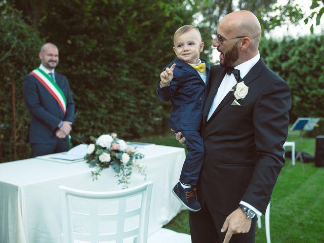 Il matrimonio di Fabrizio e Giulia a Sillavengo, Novara 43