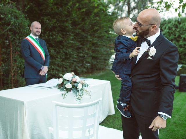 Il matrimonio di Fabrizio e Giulia a Sillavengo, Novara 44