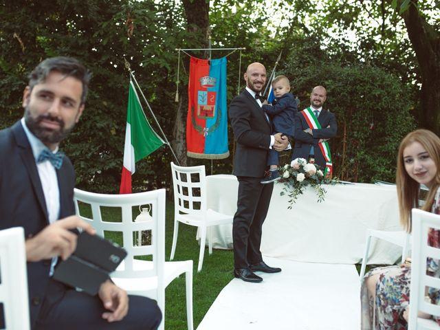 Il matrimonio di Fabrizio e Giulia a Sillavengo, Novara 50