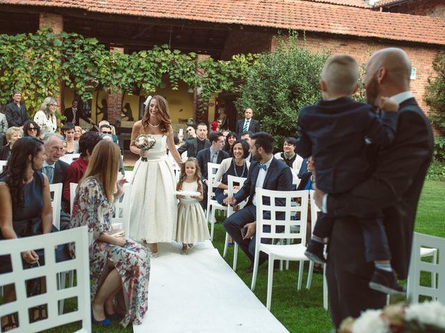 Il matrimonio di Fabrizio e Giulia a Sillavengo, Novara 51