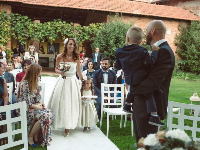Il matrimonio di Fabrizio e Giulia a Sillavengo, Novara 52