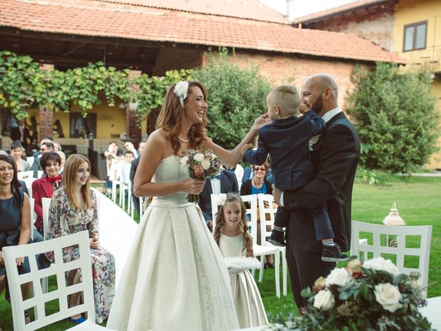 Il matrimonio di Fabrizio e Giulia a Sillavengo, Novara 53