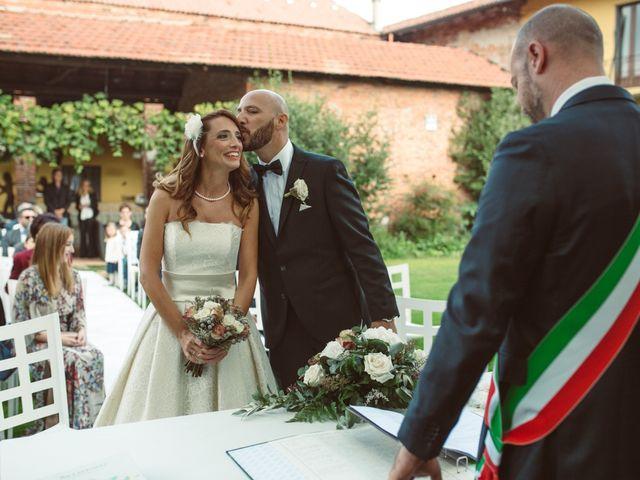 Il matrimonio di Fabrizio e Giulia a Sillavengo, Novara 54