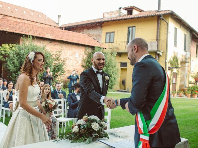 Il matrimonio di Fabrizio e Giulia a Sillavengo, Novara 56