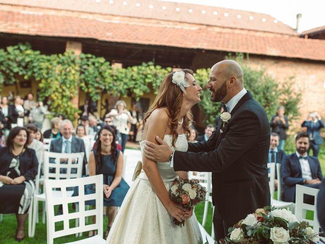 Il matrimonio di Fabrizio e Giulia a Sillavengo, Novara 57